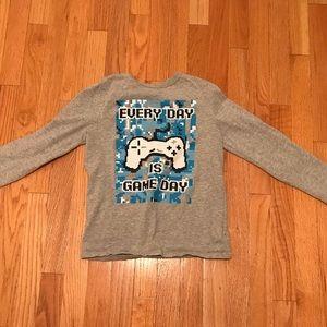 Boy's GAP Long Sleeve Tee Shirt Size Medium